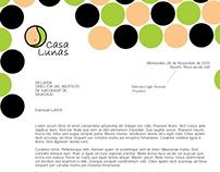 Papelería Institucional - Casa Lunas