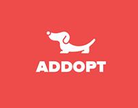 Addopt - Design UI iOS