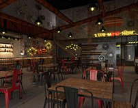 Garage Bar (Restaurant Design)