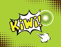 Infografía - kiwi - Movimiento Pop Art