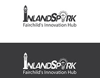 Inland Spark Logo Design