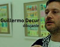 VClip Exposición DECUR dibujante Argentino