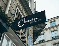 Branding Sommeliers Place Club