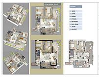Reform Apartament Study / Rome Italy / 2015