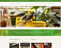 Site Restaurante Capim Santo