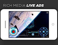 Advertising Design - Rich Media Live Ads
