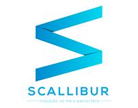 Logo em desenvolvimento: Scallibur.