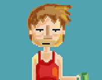Fondos e ilustraciones para video juego