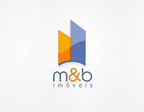 Logotipo m&b imoveis (Practicing)