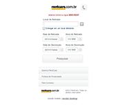 Proposta UX site mobile Rentcars