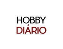 Logotipo do meu blog de entretenimento: Hobby Diário