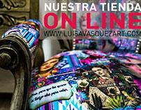 Diseño Web - LUISA VASQUEZ WWW.LUISAVASQUEZART..COM