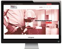 Diseño y desarrollo de sitio empresarial