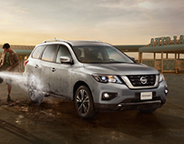 NISSAN PATHFINDER. DAD HAS ANOTHER TO DO THINGS.