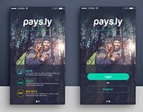 Pays.ly UI App