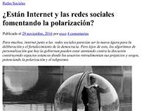 ¿Están Internet y las redes sociales fomentando...