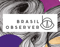 Illustration - Brasil Observer cover