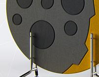 ORBITS - Acoustic Screen / Separador de Espacios