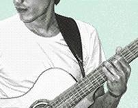 Identidad | Afiche | Dieter Nazoe en Concierto