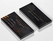 Cartão de visita   Business Card - Ana Laura Campos