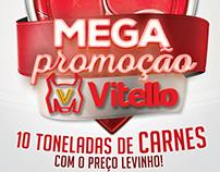 Mega Promoção Vitello - Anúncios e Flyer