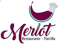 Logotipo y diseños varios restaurante Merlot