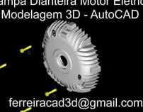 Tampa Dianteira Motor Elétrico