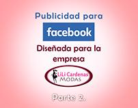 Publicidad para Facebook - Lili Cardenas Modas, parte 2