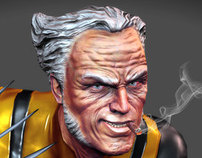 Wolverine Old Man - Realtime Character