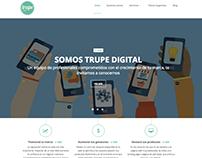 Redacción de contenidos web: Trupe Digital