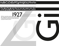 Poster All Type Gill Sans