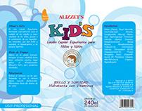 Re-design of packaging Kid's