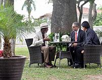 Transcripción de vídeo entrevista Morga F a Evo Morales