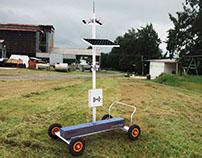 Diseño de dispositivo electrónico de vigilancia.