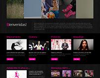Anhelo Mis 15 Web Design