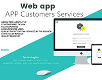 Web app Customers Services