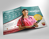 Flyer | Pós-Graduação na Área de Saúde