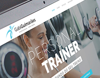 Site Personal Trainer Gabi Guimarães