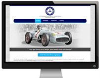 Diseño Web: Club Mercedes-Benz Argentina