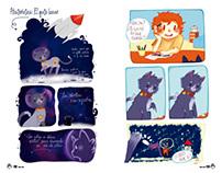 El Gato Lunar   Comic