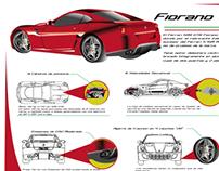 Infografia Fiorano GTB 599 Ferrari