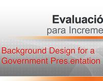 Government / Gobierno Background for PPT Presentation
