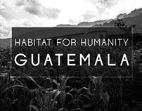 Habitat for Humanity Guatemala: building hope