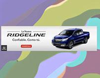 Honda - Yahoo Español – Homepage Billboard