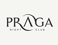 Praga Night Club - Logo Design