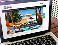 Travel & Leisure Website