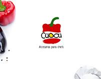Diseño de Isologo para marca de cocineros y chefs.