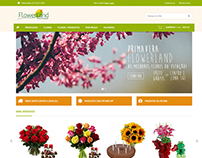 Flowerland - Novo e-commerce - Responsivo