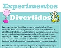 Artículo para web infantil - Experimentos divertidos
