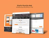 Diseño Template Web - Aurea Agency